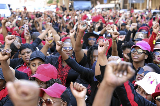 Thousands of women marched to the Union Buildings in Pretoria to protest against gender-based violence under #TotalShutdown movement.