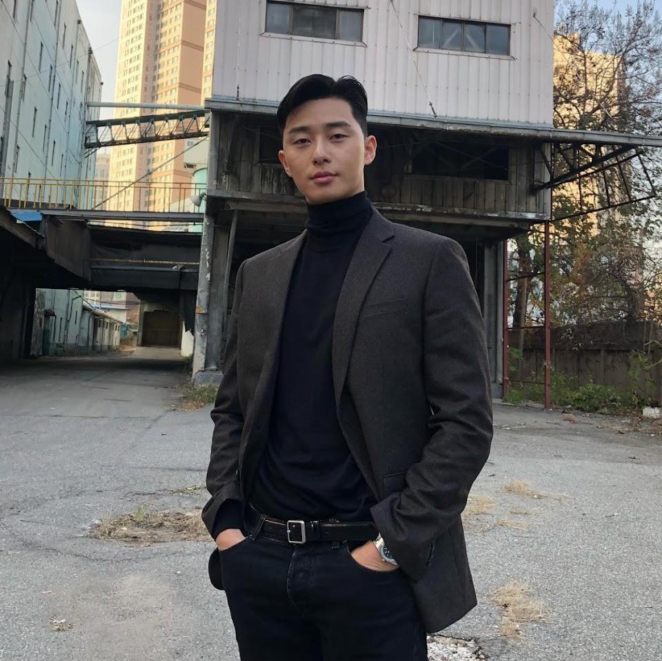 park seo joon bts v park hyung sik pool party 1