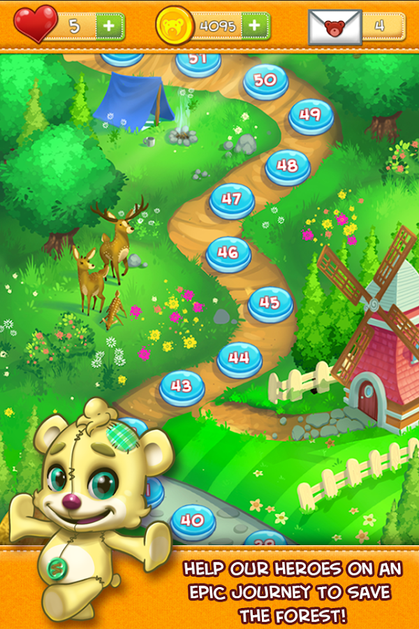 Teddy Bear Heroes!- screenshot