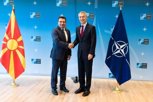 Image result for Macedonia signs accord to join NATO