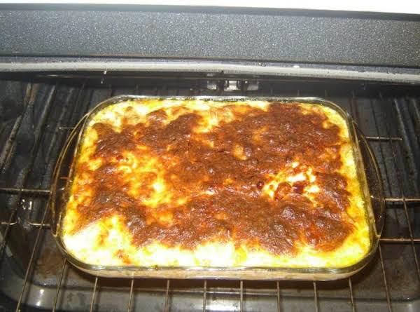 Not Yo' Momma's Macaroni And Cheese Pie
