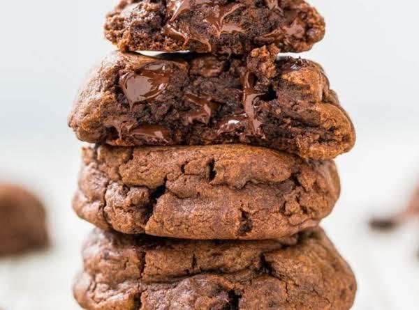 Super Chocolate Fudgy Pudding Cookies Recipe