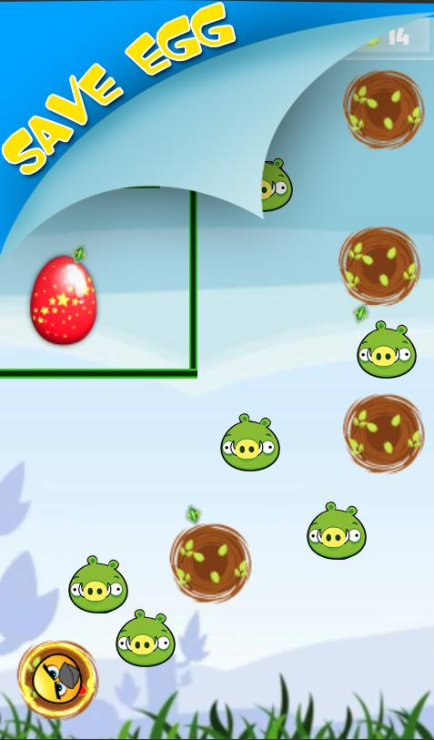 Скриншот Save Egg : Escape from wild piggies