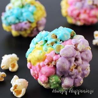 Peeps Popcorn Balls - Colorful Easter Treats Recipe