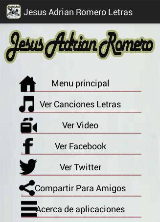 Letras de Jesús Adrián Romero