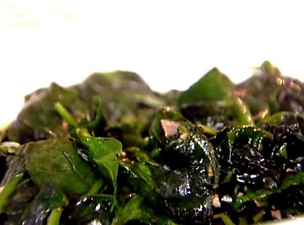 Garlic And Spinach Recipe