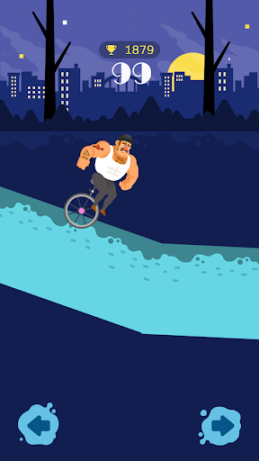 Unicycle Downhill screenshot 1