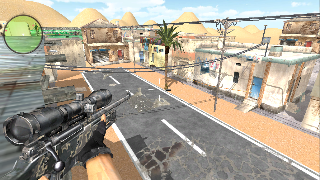 SWAT Shooter Killer- screenshot