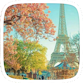 Pink Eiffel Tower Theme