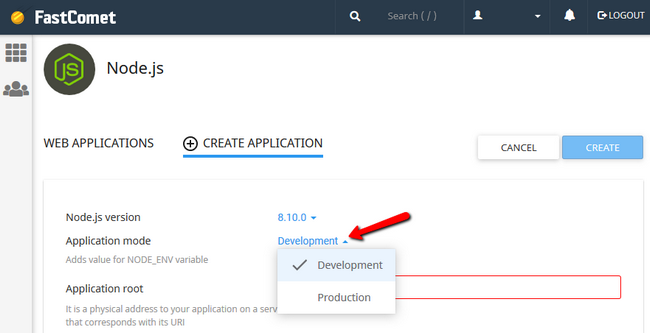 Select the Development or Production Mode in Node.js - FastComet Blog