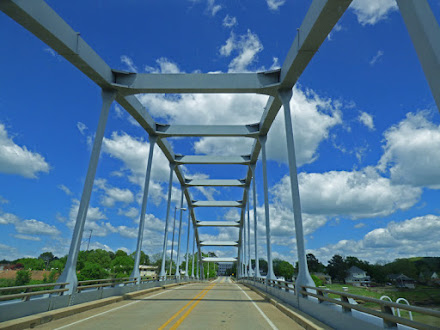 Crossing Arkansas River