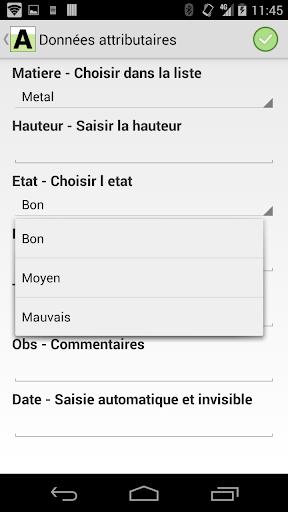ArpentGIS Mobile screenshot 8