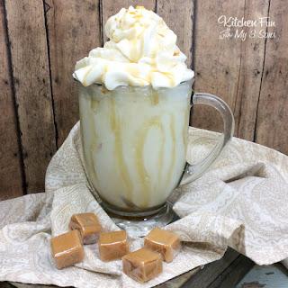 Salted Caramel Bourbon Milkshake Recipe