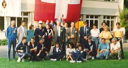 Photo: Beatemberg CH. 1988. god. YU ARDF ekipa
