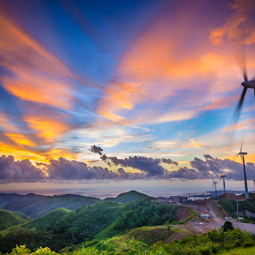Untitled by Alexander Nainggolan - Landscapes Mountains & Hills ( aklan, nabas, hills, mountain, sustainable energy, ladnscape, green energy, renewable energy, phillipine,  )