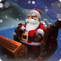 Christmas Santa Flight Sim 3D icon