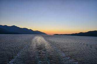 Photo: Alaska sunset - Day 6