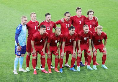 Les Danois suspendent leur entraînement du jour après le malaise de Christian Eriksen