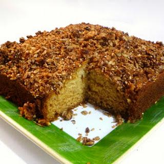 Granola Topped Coffee Cake