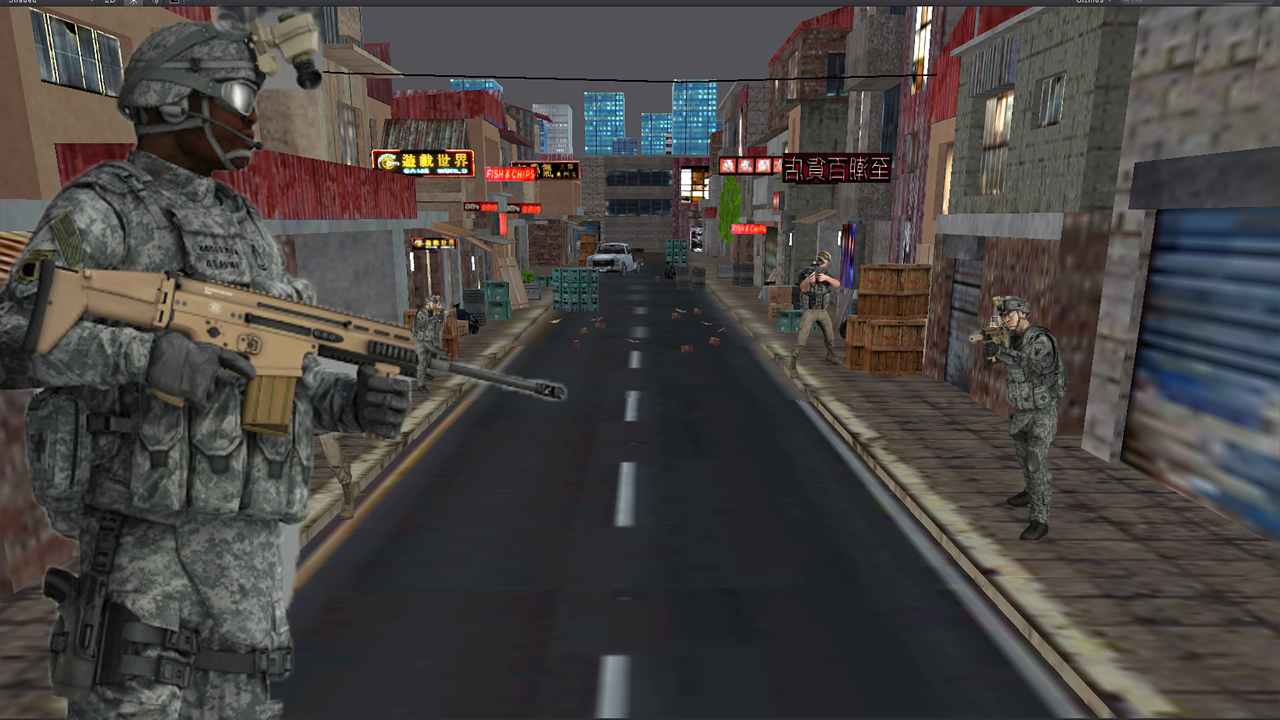 City Sniper Force Assault 2017- screenshot