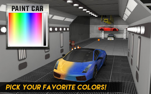 Multi-Storey Car Parking Spot 3D: Auto Paint Plaza filehippodl screenshot 9