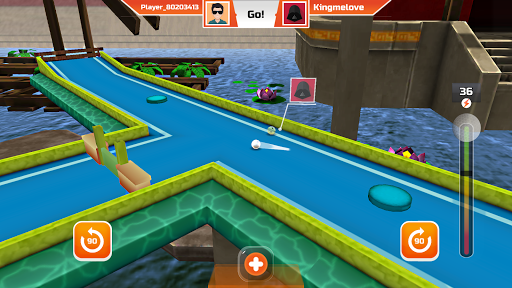 Mini Golf 3D City Stars Arcade - Multiplayer Rival 21.2 screenshots 7