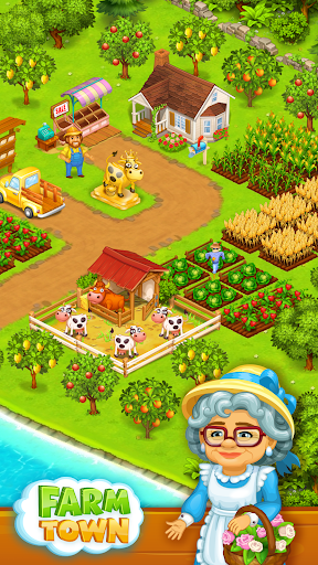 Farm Town: Happy village near small city and town 2.49 de.gamequotes.net 2