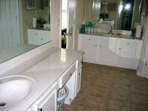 Photo: Two sinks in the master bath