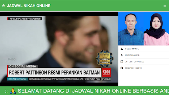 App Jadwal Nikah Online APK for Windows Phone