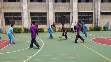 Photo: School Visit - 至善國中: Basketball Friendly Match