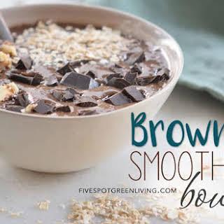 Brownie Smoothie Bowl.