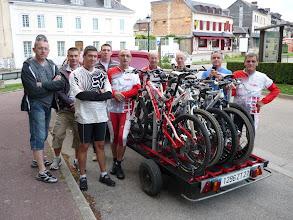 Photo: Samedi départ 7 h de Bourgtheroulde