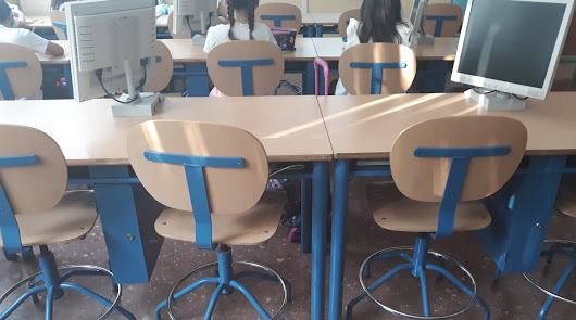 Once centímetros de distancia entre alumnos en el CEIP Arco Iris de Aguadulce
