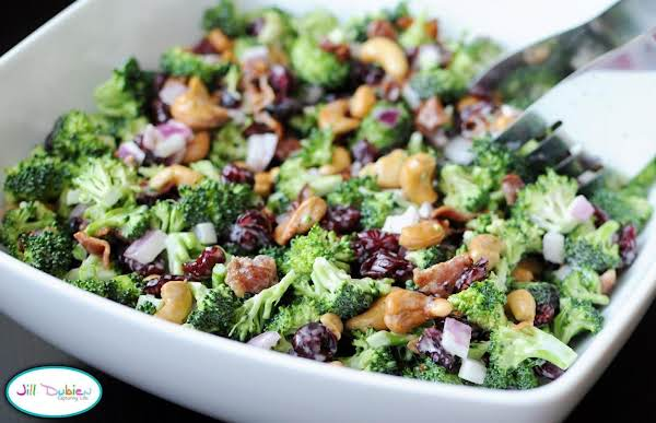 Broccoli Salad With Smoked Turkey Recipe
