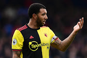 Troy Deeney of Watford gestures during the Premier League match between Crystal Palace and Watford FC at Selhurst Park on March 07, 2020 in London, United Kingdom.