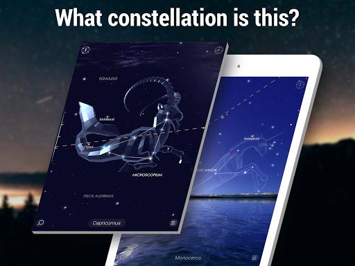 Screenshot for Star Walk 2 Free - Sky Map, Stars & Constellations in Hong Kong Play Store