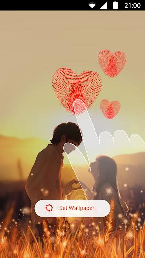 Fingerprint Love LiveWallpaper