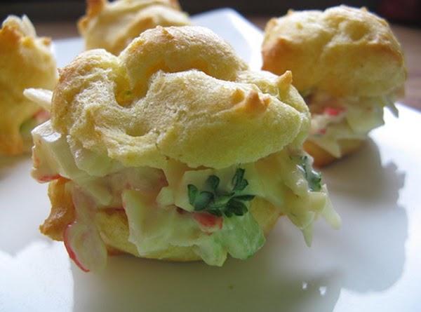 Crab Meat Puff Balls Recipe