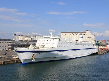 太平洋フェリー「きたかみ」(旧船)