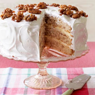 Mary's Frosted Walnut Layer Cake.