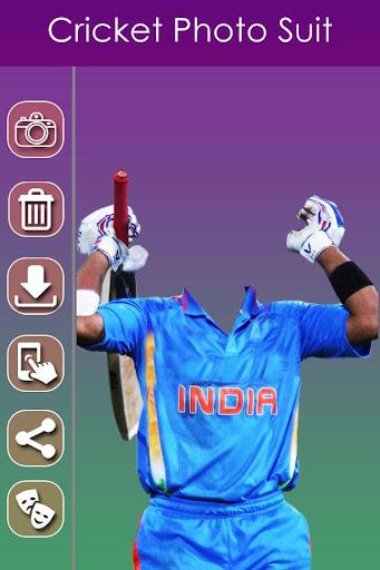 Cricket Photo Suit