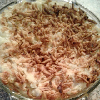 Crunchy Mashed Potatoes.