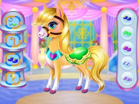 Pony Unicorn Horse Games For Girls: capturas de pantalla de Makeup Salon 9