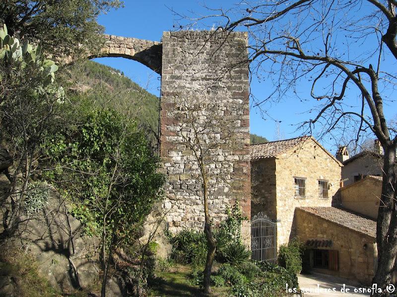 Photo: Torre Musulmana en el Mas de Mont-Ravá