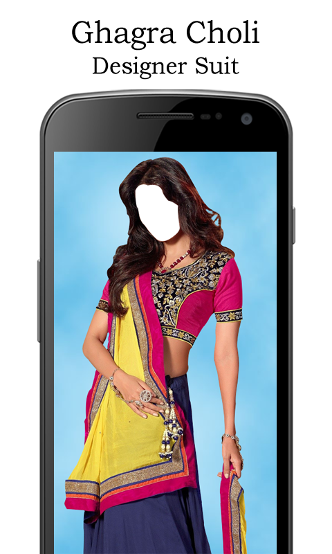 Ghagra choli designer suit new android apps on google play for Virtual suit builder