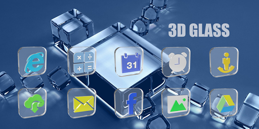 3D Glass-Solo Theme