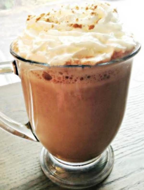 Pumpkin Hot Chocolate Recipe