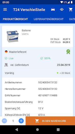 Tyre24 Verschleiu00dfteile 3.8.1 screenshots 5
