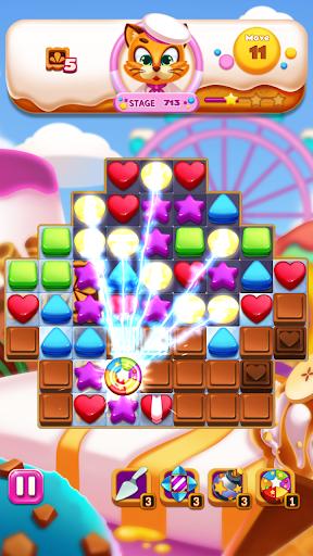 Sweet Cookie World : Match 3 Puzzle screenshots 8