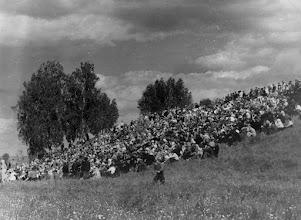Photo: Жители села Новодевичье на выступлении Волжского Народного Хора. Фото из архива Будылина Н.В.